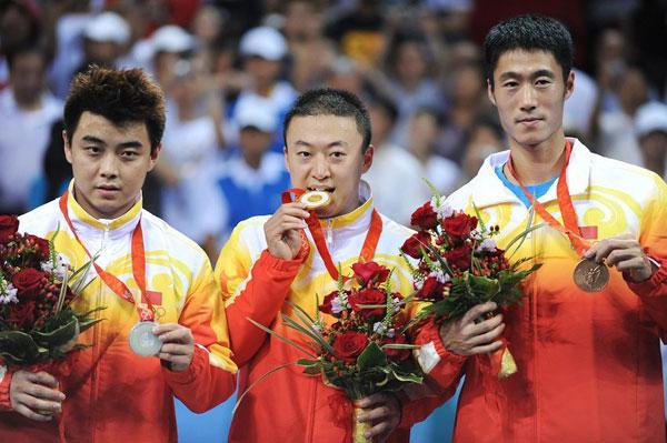 北京奥运会三大主力将为第四张世乒赛入场券全力以赴