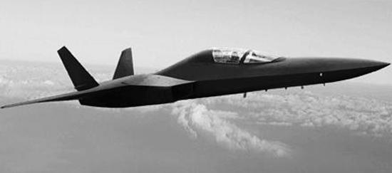 日本隐形战机想象图。