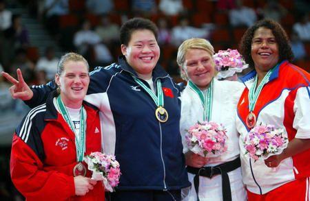 2003世锦赛-佟文夺得冠军