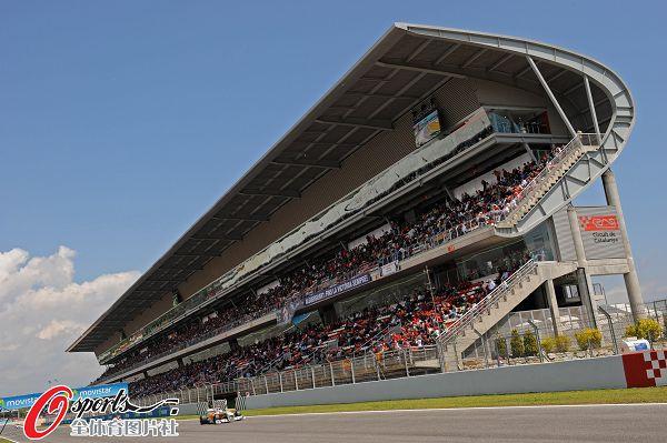 F1西班牙站排位赛韦伯夺杆位