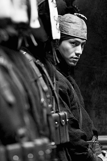 陈坤在《让子弹飞》里的造型