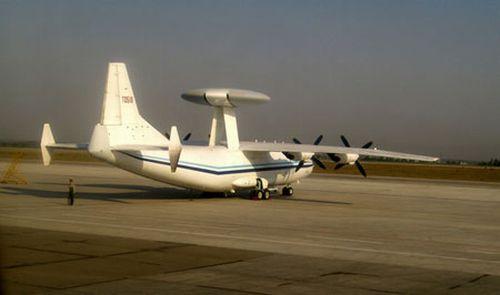 中国以运-8为载机的某出口型预警机。