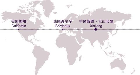 """""""中国葡萄酒产区地图"""" 凸显新疆天山"""
