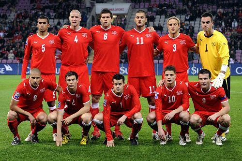 瑞士队阵容