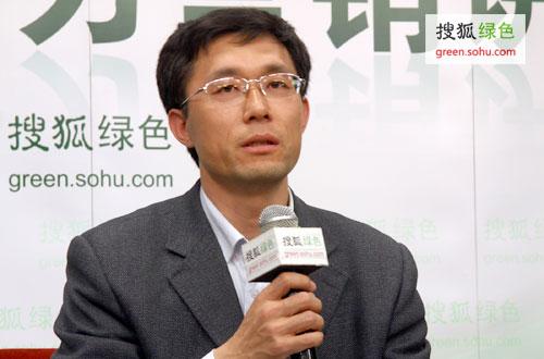 国家发改委能研所可再生能源发展中心副主任任东明 (搜狐绿色荣蓉/摄)