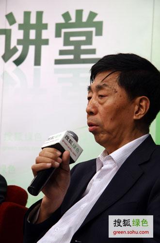 英利集团首席战略官马学禄 (搜狐绿色荣蓉/摄)