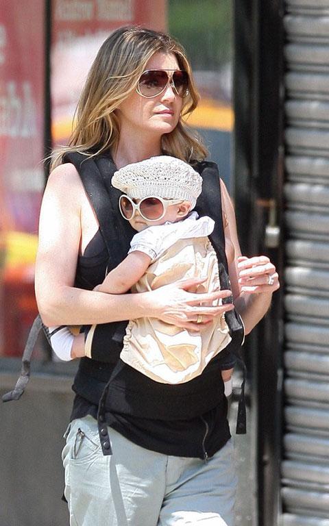 好莱坞街拍第54期:潮Baby 艾伦-旁派女儿