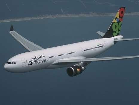 泛非洲航空公司的一架空客A330型客机