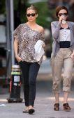好莱坞街拍54期:豹纹无处不在 凯特-哈德森