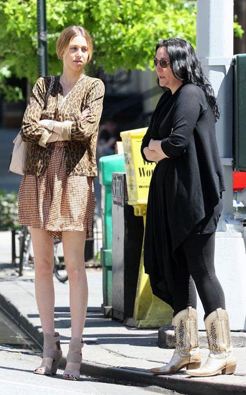 好莱坞街拍54期:豹纹无处不在 惠特尼-波特