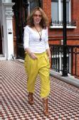 好莱坞街拍54期:哈伦裤到底酷不酷 凯莉-米洛