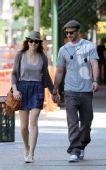 好莱坞街拍54期:情侣档 贾斯汀和贝尔