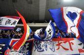 图文:[中超]江苏VS上海 热情的球迷