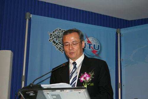 中国移动通信公司沙跃家副总裁