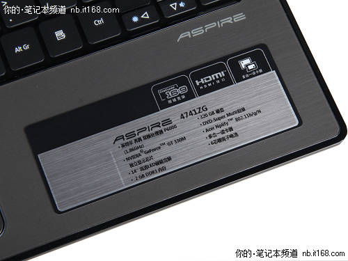 神秘处理器低价游戏本 Acer 4741ZG首评
