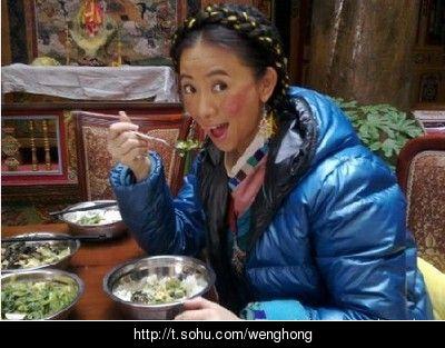 手绘藏族生活日常
