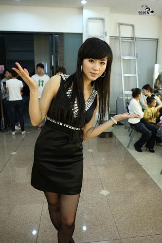 图:《我们约会吧》靓丽女嘉宾——吴雨熙
