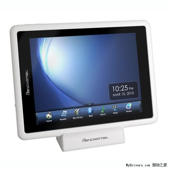 迷你iPad Pandigital推廉价7寸彩屏电子书