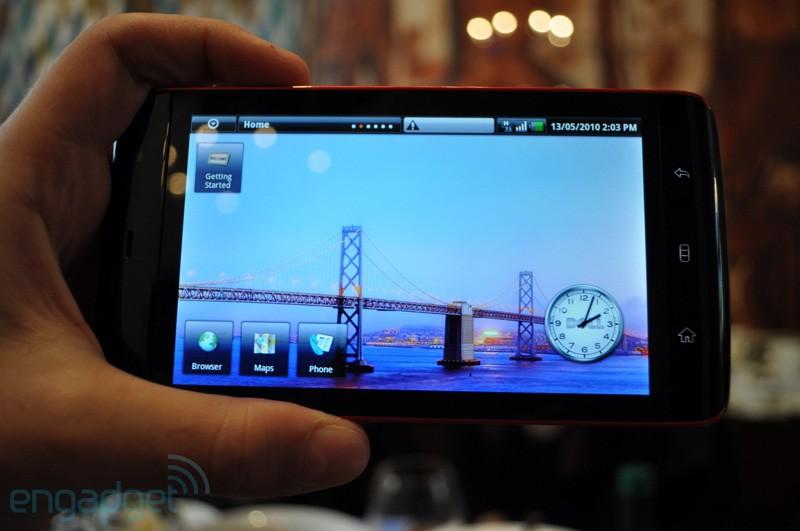 戴尔Android平板电脑Streak主界面
