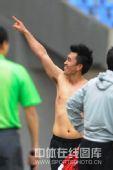 图文:[中超]辽宁1-0重庆 陈星秀胸肌