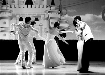 《白日梦》前晚在海淀剧场演出。本报记者张伟摄