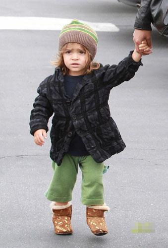 Baby Baby:马修-麦康纳希儿子