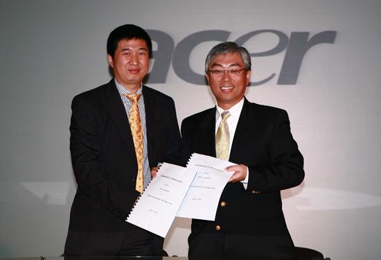 宏�与方正科技签署战略合作