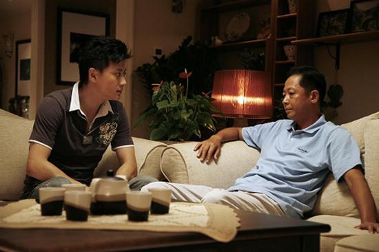夏凡在《手机》中与王志文对戏