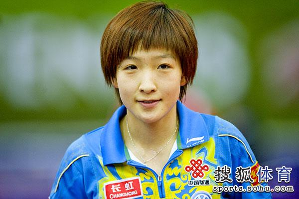 刘诗雯轻松取得3-0