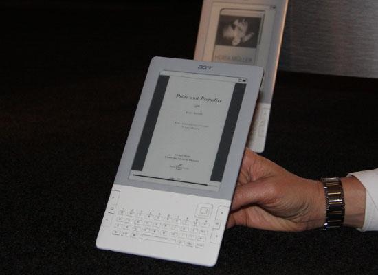 图为Acer 电子书Lumiread