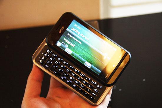 Acer展出的Windows Mobile 6.5平台智能手机