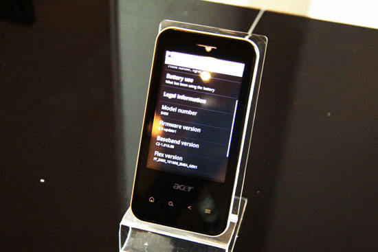 Acer Android智能机E400