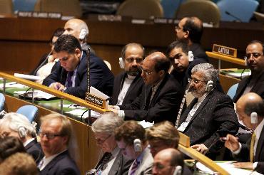 纽约,2010年5月28日《不扩散核武器条约》第八次审议大会闭幕 新华社记者朱炜摄