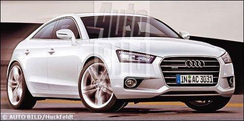 效果图曝光 新一代奥迪A3将推sedan车型 汽车之家