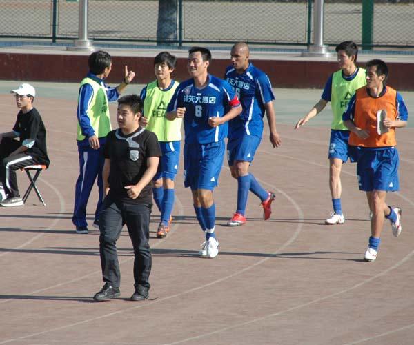 南京庆祝进球