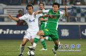 图文:[中超]天津0-0北京 黄博文PK王新欣