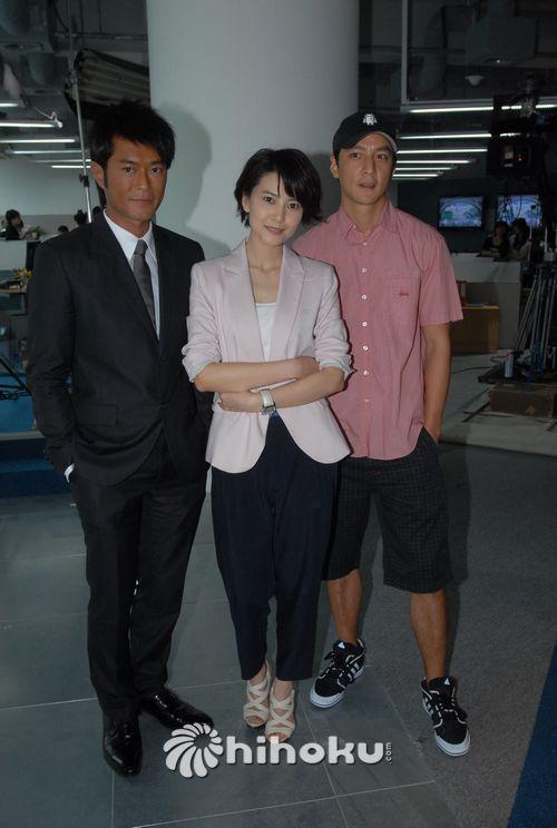古天乐、高圆圆及吴彦祖于新片中会发展一段三角恋。