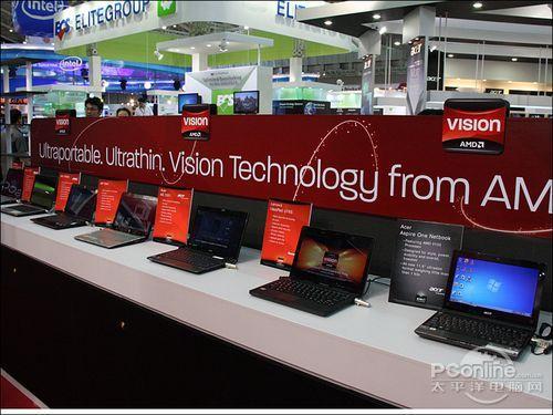AMD展区及展品