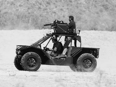 Hy-DRA型突擊車。