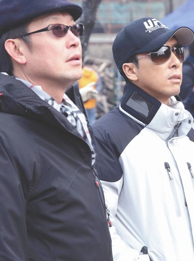 刘伟强与甄子丹