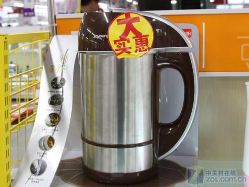 九阳豆浆机JYDZ-202   九阳JYDZ-202豆浆机外观采用磨砂...