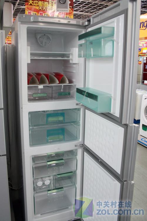 零度持久保鲜 西门子三开门冰箱破七千