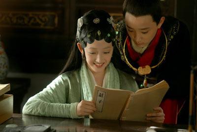 """""""林黛玉""""蒋梦婕与""""少年宝玉于小彤"""