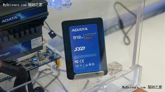 400MB/s 威刚SATA 6Gbps固态硬盘抢先测试
