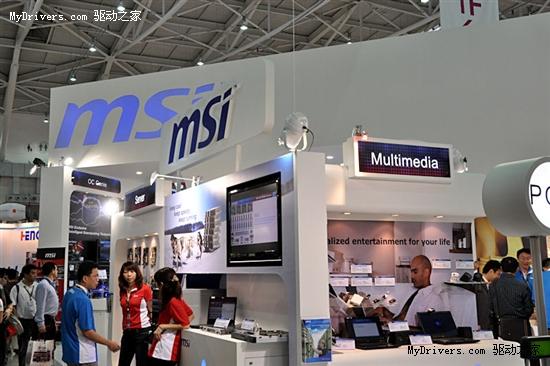 Computex微星展品汇总:移动版GTX 460M、GF108披露