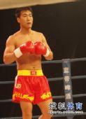 图文:姜春鹏KO伊朗选手 姜春鹏成竹在胸