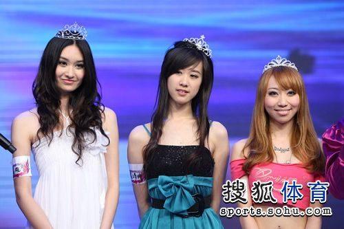 图文:非常天使全国总决赛 非常天使前三名