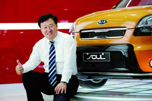 图为专访东风悦达起亚汽车有限公司销售本部长苏南永-苏南永 今年预高清图片