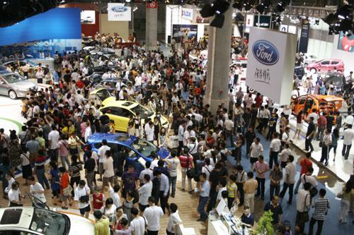 2009重庆车展现场图片-- 8