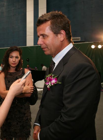 ATP国际区总裁布拉德-德拉维特